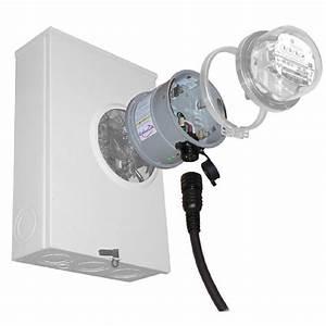 Generlink 30 Amp Meter Mounted Transfer Switch