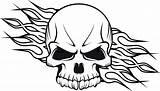 Skull Heart Drawing Coloring Bones Sugar Printable Adults Getdrawings sketch template