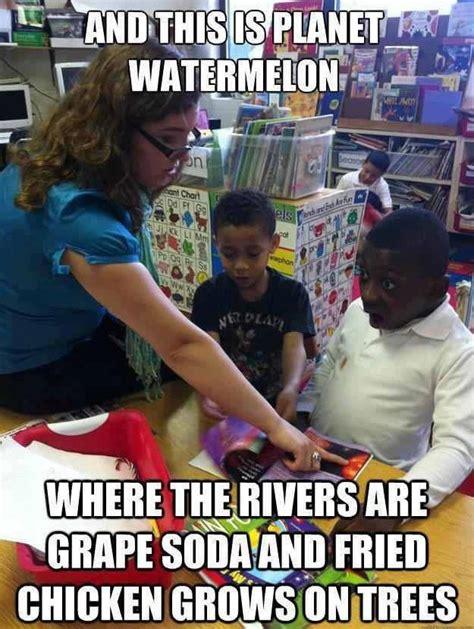 Racist Meme - planet watermelon that s racist know your meme