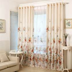 2016 printed shade window blackout curtain fabric modern curtains for living room the bedroom