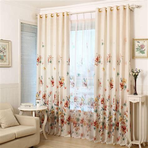 2016 Printed Shade Window Blackout Curtain Fabric Modern