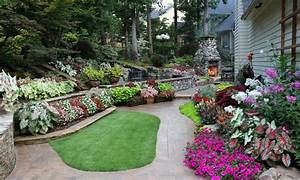 low bed ideas back yard affordable landscaping ideas back With 4 landscape design ideas for your beautiful garden