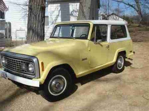 1973 jeep commando find used beautiful 1973 jeep commando with low miles no