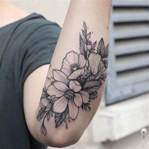 hermosos tatuajes de magnolias  mujeres tatuajes