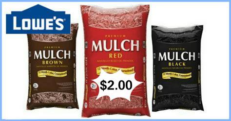 Lowes🌱  Mulch Sale Through 7/5