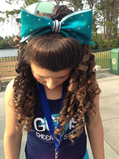 love the bow and love the curls what could go wrong