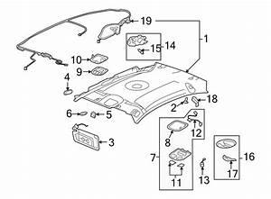 Chevrolet Malibu Reading Light  Cashmere  W  O Sunroof  W  O