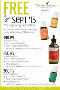 Young Living Essential Oils  September 2015 Promotion