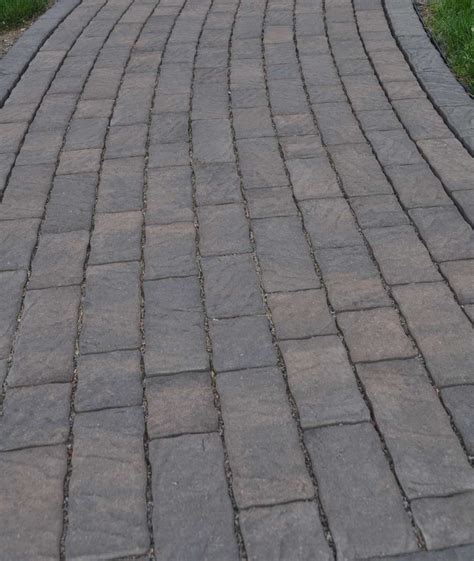 paver styles choosing the right paver color and style for a patio driveway or path inch calculator