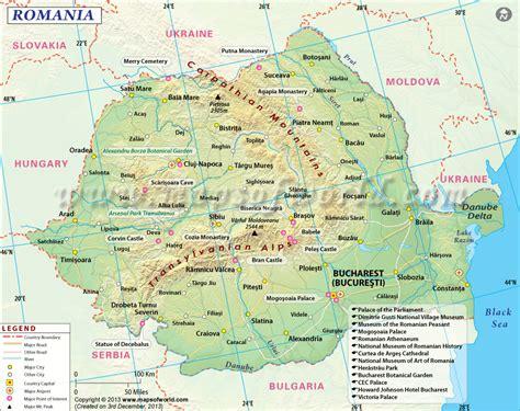 romania maps travelquazcom