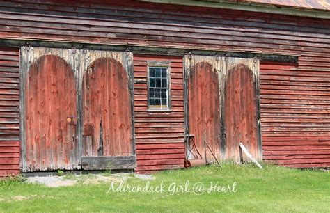romantic  barns  route  adirondack girl  heart