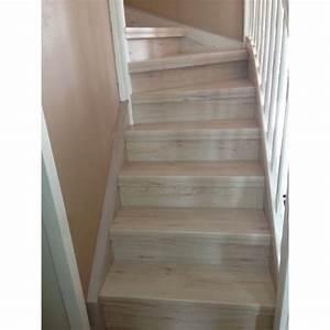 Habillage Escalier Bois : habillage escalier en bois wonderful habillage d escalier ~ Dode.kayakingforconservation.com Idées de Décoration