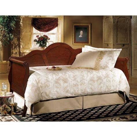largo furniture sheraton ii wood daybed  brown cherry