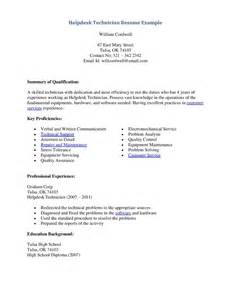 it help desk application letter