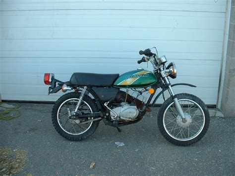 Kawasaki Km 100 by 1976 Kawasaki Km 100 A Universal Cycle Services Ltd