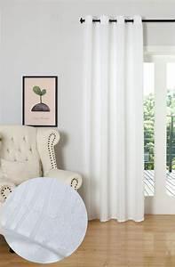 Vorhang Weiß Blickdicht : gardine vorhang jacquard schal blickdicht mit feiner musterung sen tivoli 204 ebay ~ Whattoseeinmadrid.com Haus und Dekorationen