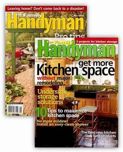 Family Handyman Magazine Deal