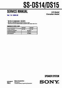 Sony Dav-dx170  Dav-dx250 Service Manual