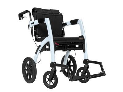 Rollator Transport Chair Combo by Rollz Motion Combination Rollator And Transport Chair