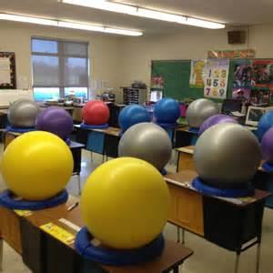 Alternative Classroom Seating Balls