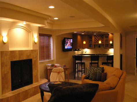 basement finish design