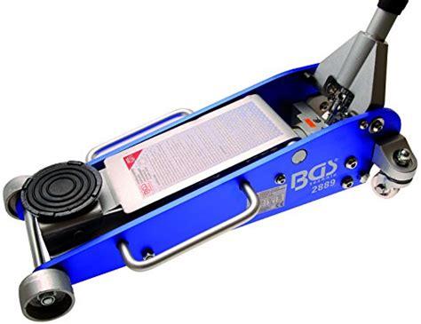 hydraulischer wagenheber test im test der bgs rangier wagenheber 2 5 t in aluminium