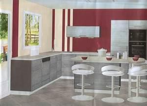 Quelle peinture pour ma cuisine for Idee deco cuisine avec cuisine avec carrelage gris clair