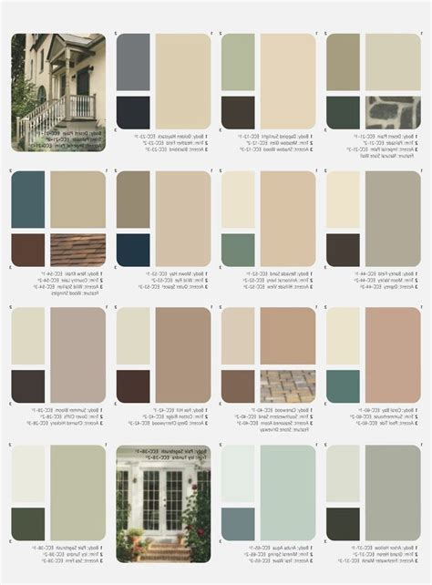 Image Result For Best Color Combination For House Exterior