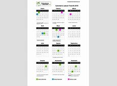 Calendario Laboral Tenerife SC 2019