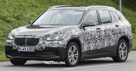 Seater Bmw by Spied Bmw X1 Grand Seven Seater Crossover Suv