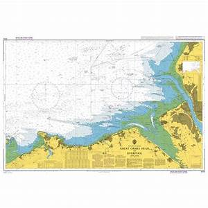 Fog Charts Admiralty Chart 1978 Great Ormes Head To Liverpool