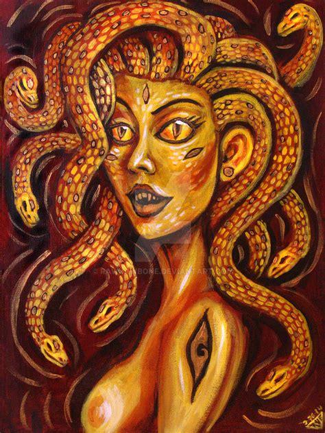 The Golden Gorgon by rawjawbone on DeviantArt