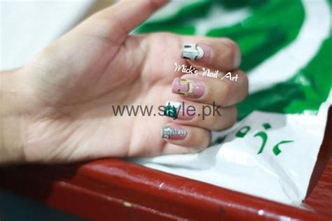Nail Art Ideas 2016 For Pakistan's