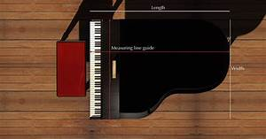 Sizing Guide for Piano Covers | Piano covers in 2019 ...