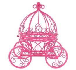silver wedding cake stand pink cinderella pumpkin carriage princess great for a