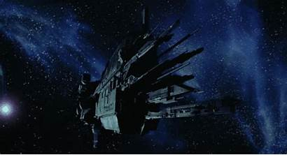 Spaceship Starship Animated Aliens Uss Sci Fi