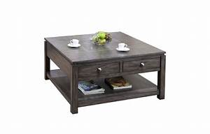 winners quotlancasterquot 40quot square coffee table jowseys With 40 square coffee table