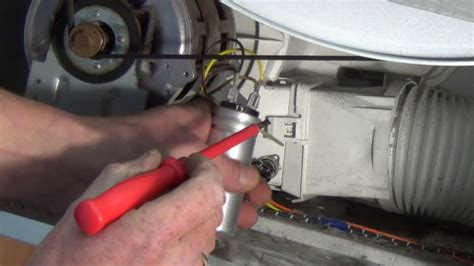 tumble dryer   turning   find  fault