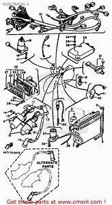 Yamaha Xv750k Virago 1983 Electrical-1