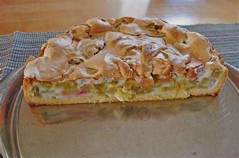 Rhabarberbaiserkuchen (rezept Mit Bild) Von Hilda