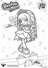 Coloring Shoppies Join Shopkins Crown Jewel Printable Candelabra Lara Getcolorings Jo Colorings sketch template