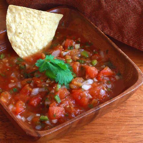 cuisine salsa restaurant style salsa the daring gourmet