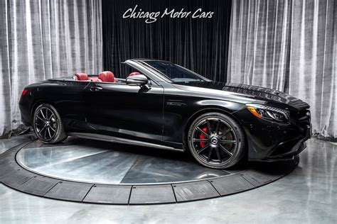 Lose your license in style. Used 2017 Mercedes-Benz S63 AMG Convertible For Sale ($97,800)   Chicago Motor Cars Stock #17035