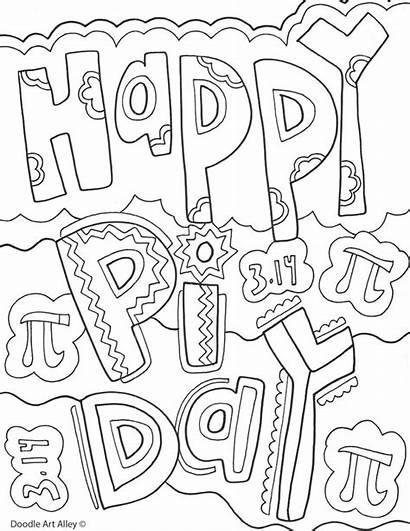 Pi Happy Events Coloring Classroom Classroomdoodles Printables