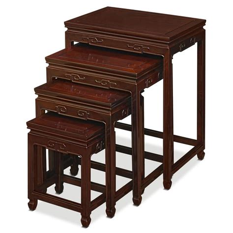 rosewood key design nesting tables table nesting tables
