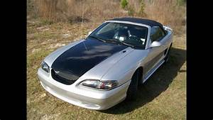 1996 Ford Mustang Custom Silver Metal Flaked