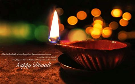 Happy Diwali Widescreen Hd Wallpaper