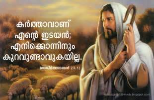 Malayalam Bible Words with Picture