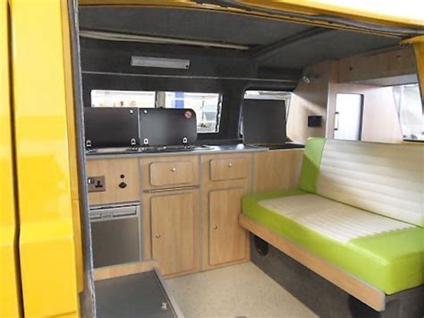 Gorgeous lime green interior   Vanagon Hacks & Mods