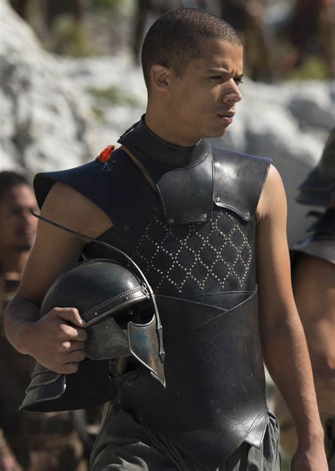 actor game of thrones grey worm grey worm and his daemon by lj todd on deviantart